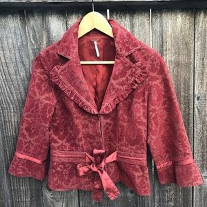 Free People Jacket Sz 6
